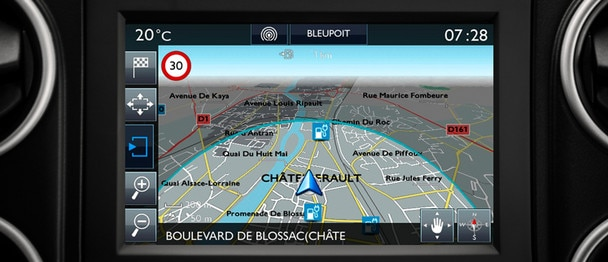 NAVIGATIE Citroën E-Berlingo Multispace