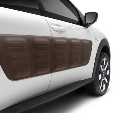 Les Air bumps de la Citroen C4 Cactus